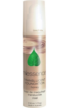 Photo of Honey Translucent Foundation (medium skin)
