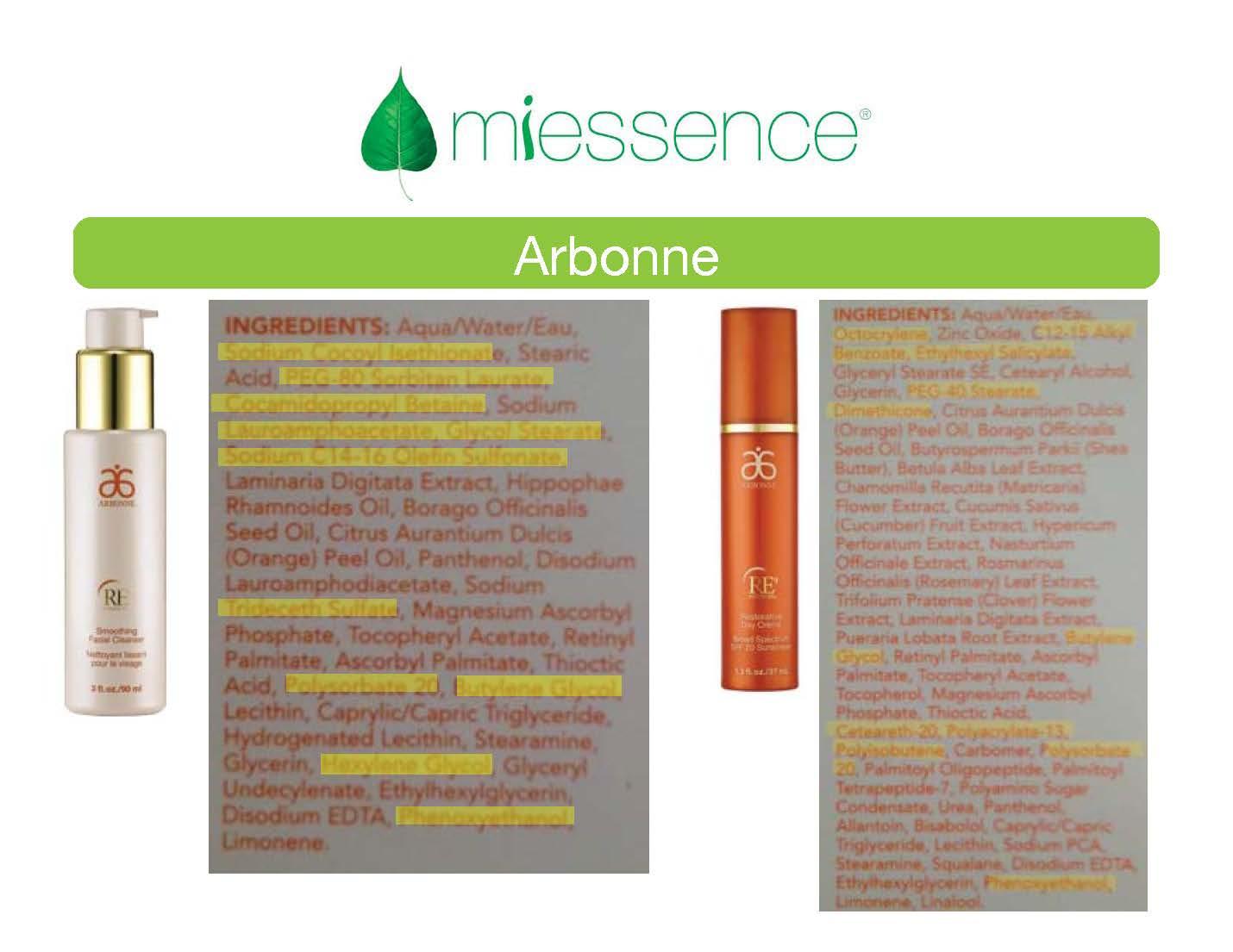 Is Arbonne Organic