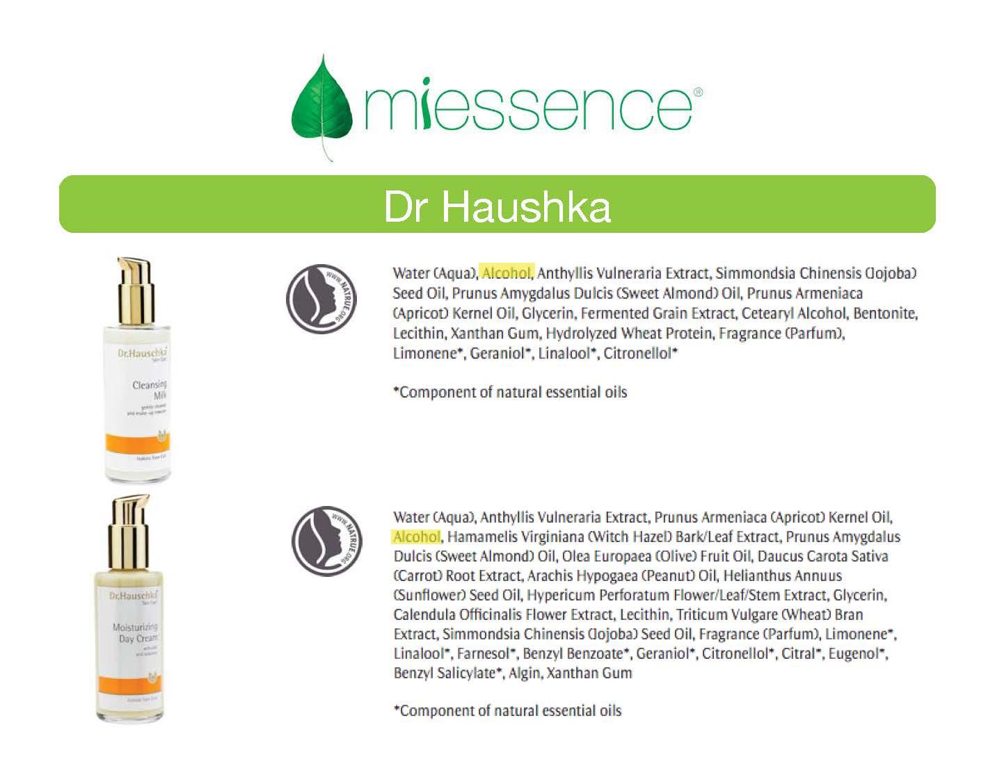 is dr haushka organic
