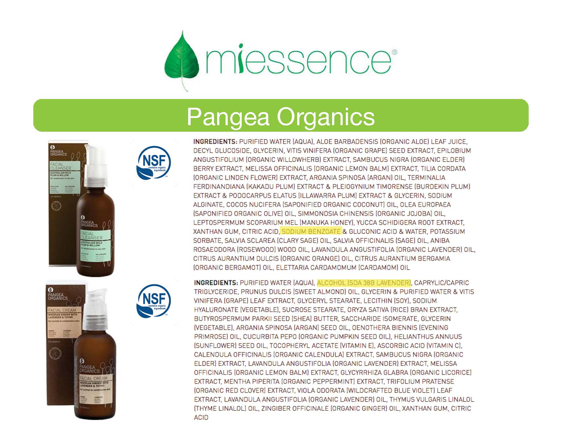 is pangea organics really organic